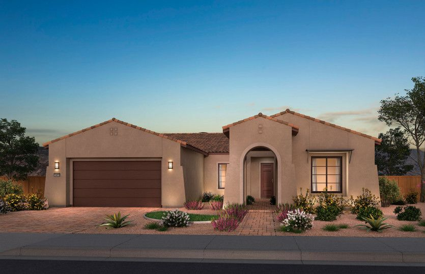Exterior featured in the Serenity By Del Webb in Las Vegas, NV