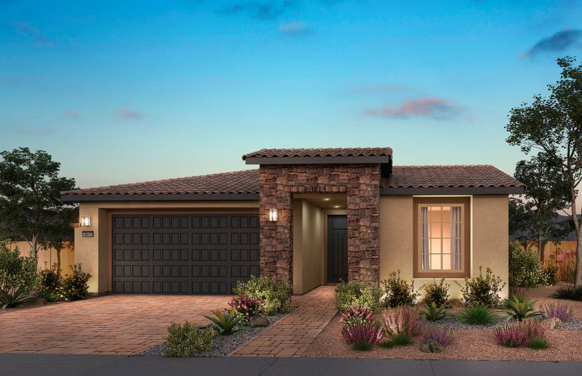 Exterior featured in the Silver Creek By Del Webb in Las Vegas, NV