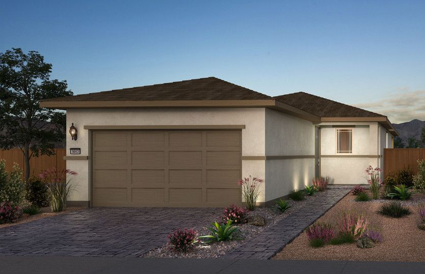 Exterior featured in the Canyon By Del Webb in Las Vegas, NV