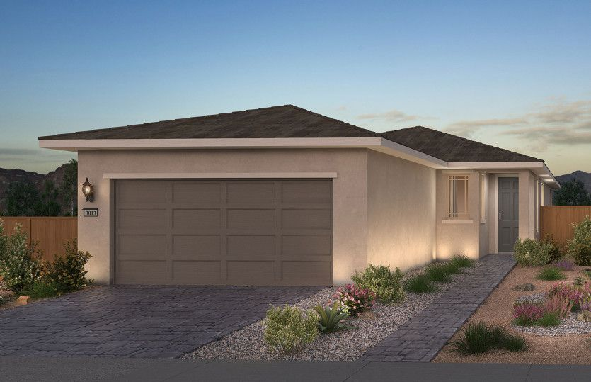 Exterior featured in the Overlook By Del Webb in Las Vegas, NV
