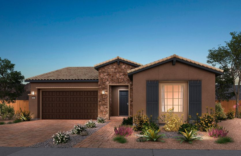 Exterior featured in the Trieste By Del Webb in Las Vegas, NV