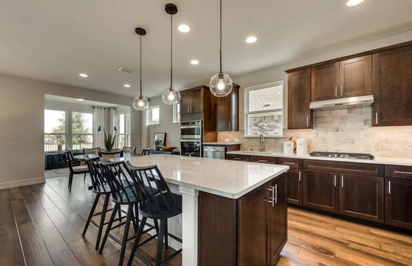 Kitchen featured in the Abbeyville By Del Webb in Dallas, TX