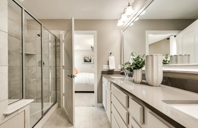 Bathroom featured in the Taft Street By Del Webb in Dallas, TX