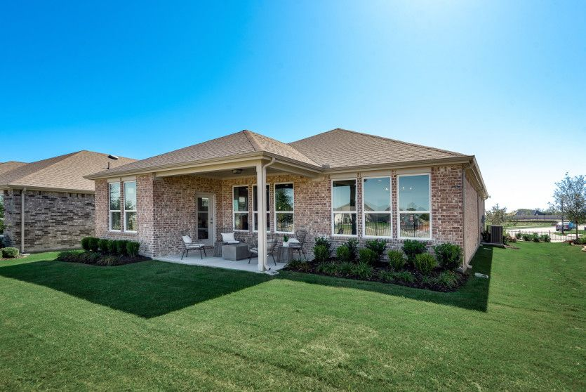 Exterior featured in the Abbeyville By Del Webb in Dallas, TX
