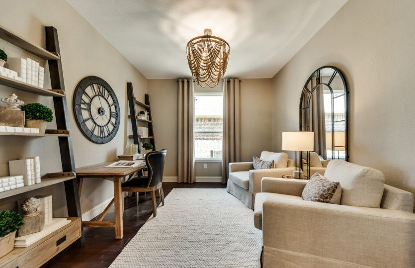 Living Area featured in the Summerwood By Del Webb in Dallas, TX