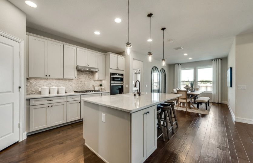 Kitchen featured in the Summerwood By Del Webb in Dallas, TX