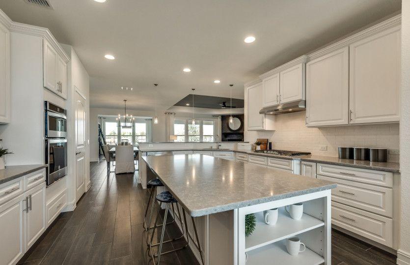 Kitchen featured in the Tangerly Oak By Del Webb in Dallas, TX