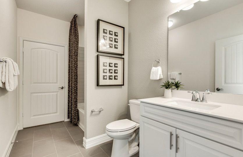 Bathroom featured in the Tangerly Oak By Del Webb in Dallas, TX