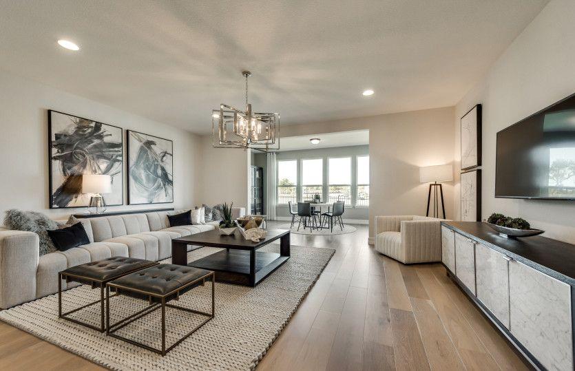 Living Area featured in the Sonoma Cove By Del Webb in Dallas, TX