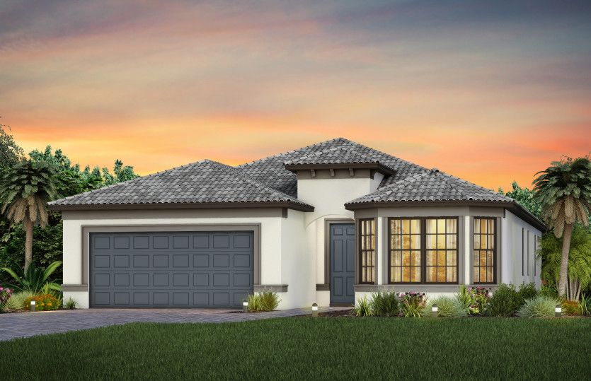Exterior featured in the Mystique By Del Webb in Naples, FL