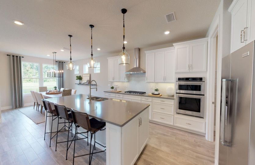 Kitchen featured in the Stellar Grand By Del Webb in Tampa-St. Petersburg, FL