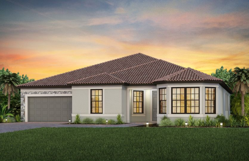 Exterior featured in the Reverence By Del Webb in Naples, FL