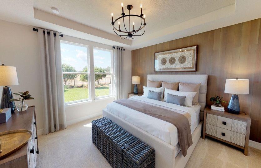 Bedroom featured in the Hallmark By Del Webb in Sarasota-Bradenton, FL