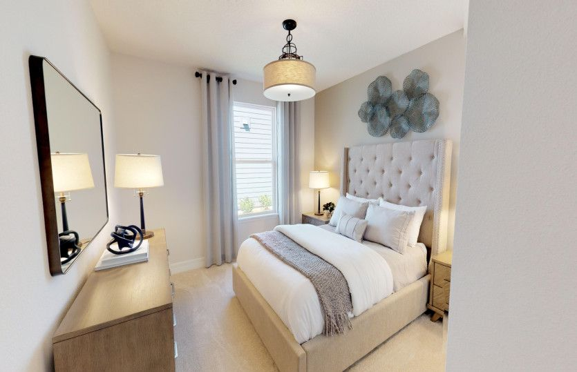 Bedroom featured in the Hallmark By Del Webb in Sarasota-Bradenton, FL