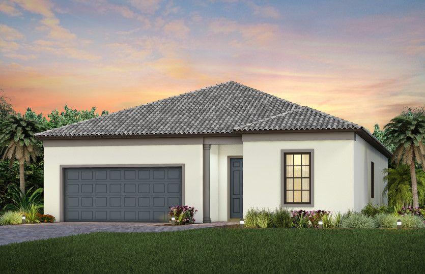 Exterior featured in the Prestige By Del Webb in Sarasota-Bradenton, FL