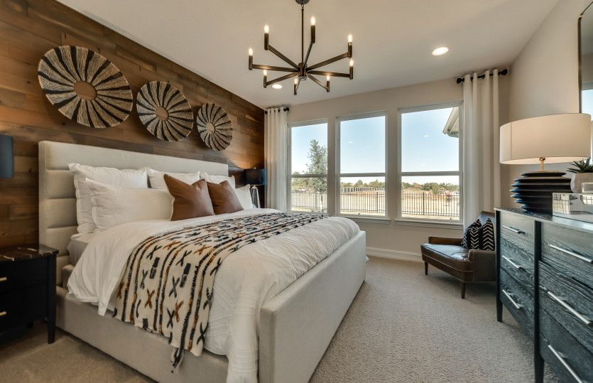 Bedroom featured in the Abbeyville By Del Webb in Houston, TX