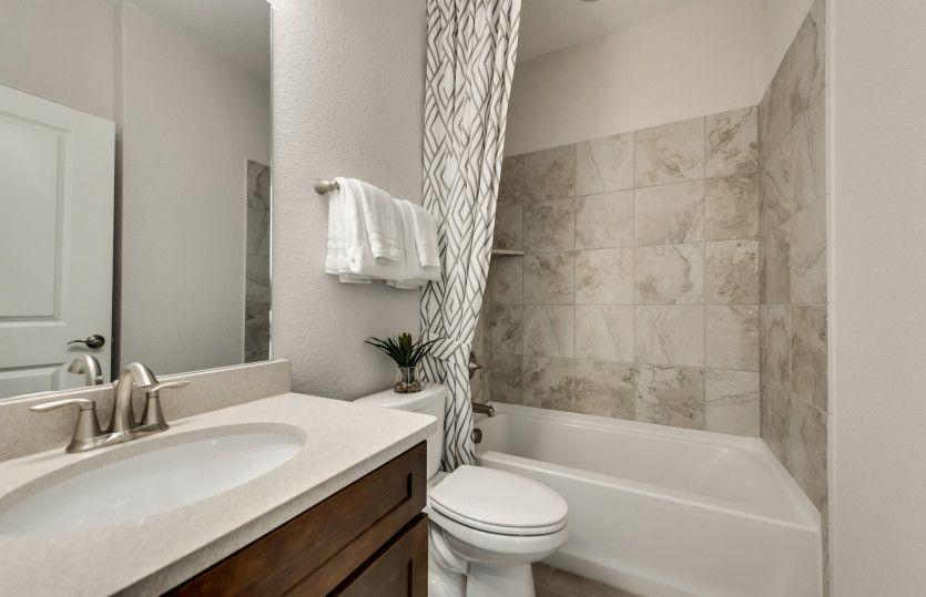 Bathroom featured in the Abbeyville By Del Webb in Houston, TX