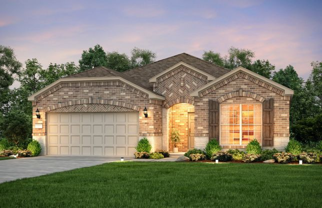 Exterior:Exterior D with stone accents and shutters