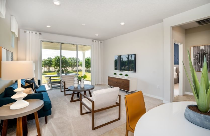Living Area featured in the Contour By Del Webb in Tampa-St. Petersburg, FL