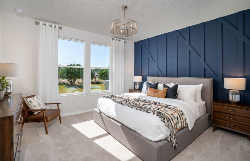 Bedroom featured in the Contour By Del Webb in Ocala, FL
