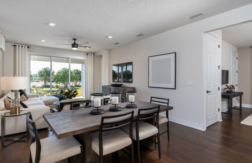Living Area featured in the Hallmark By Del Webb in Ocala, FL