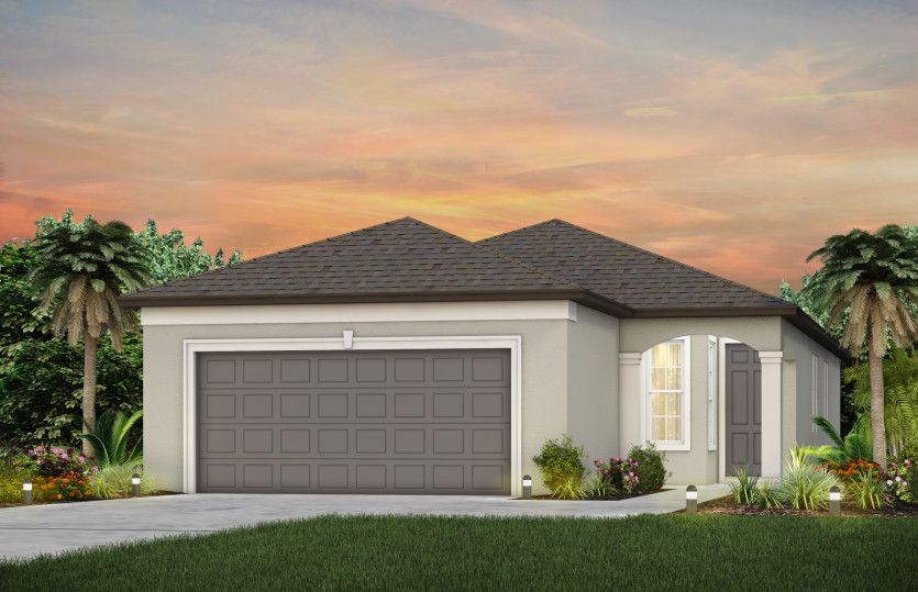 Exterior featured in the Compass By Del Webb in Ocala, FL