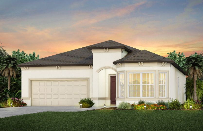 Exterior featured in the Prestige By Del Webb in Ocala, FL