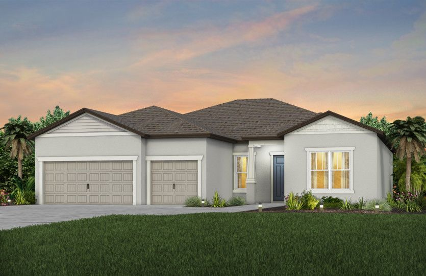Exterior featured in the Stellar By Del Webb in Ocala, FL