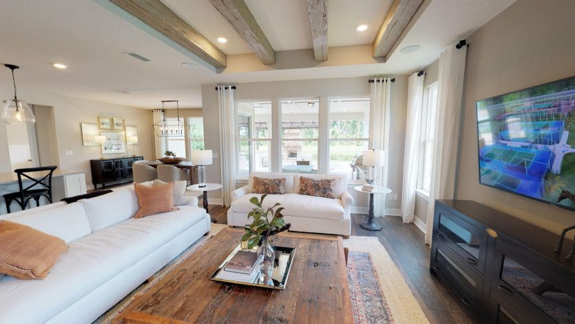 Living Area featured in the Renown By Del Webb in Ocala, FL