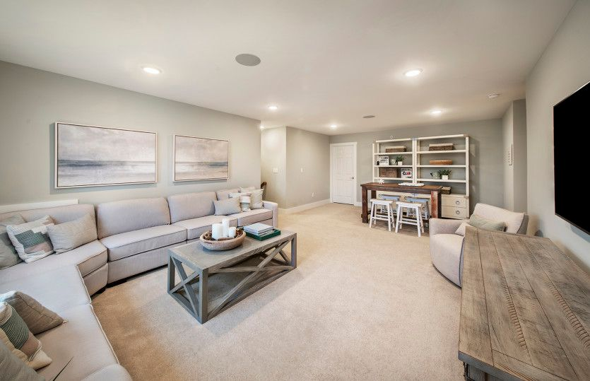 Living Area featured in the Florence By Del Webb in Morris County, NJ