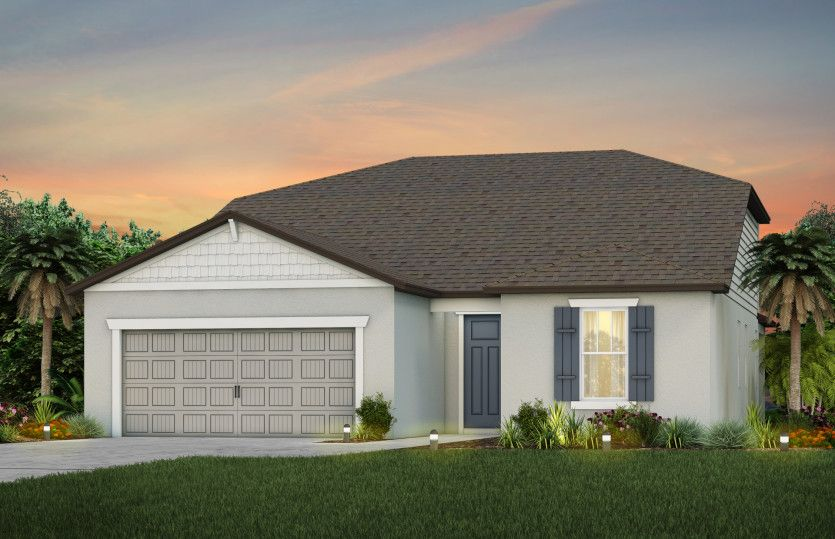 Exterior featured in the Mystique Grand By Del Webb in Ocala, FL