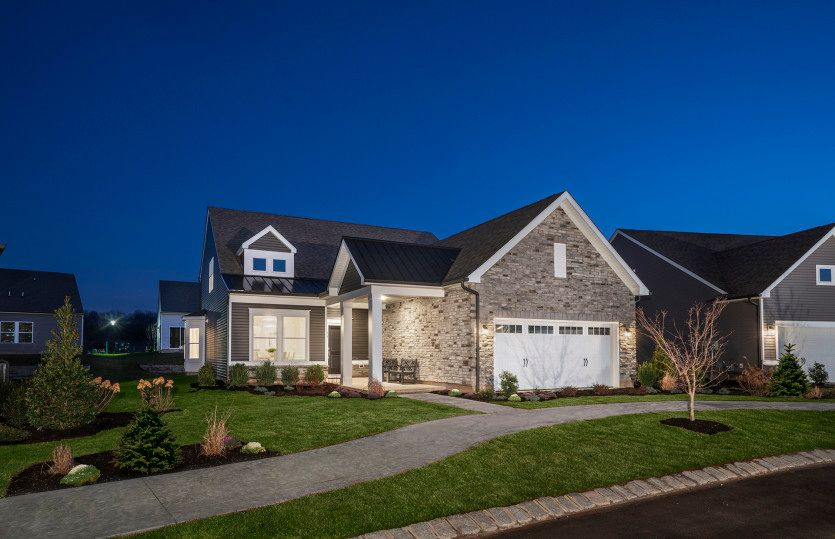 Exterior featured in the Castle Rock By Del Webb in Morris County, NJ