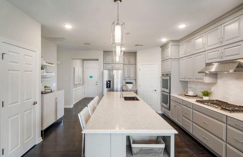 Kitchen featured in the Castle Rock By Del Webb in Morris County, NJ