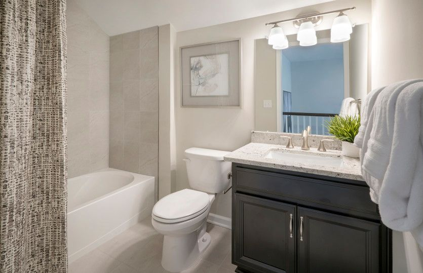 Bathroom featured in the Castle Rock By Del Webb in Morris County, NJ