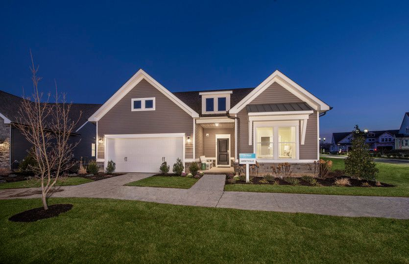 Exterior featured in the Abbeyville By Del Webb in Morris County, NJ