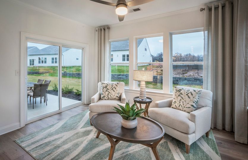 Living Area featured in the Abbeyville By Del Webb in Morris County, NJ