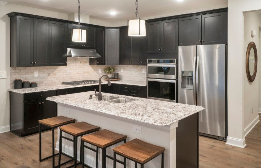 Kitchen featured in the Turin By Del Webb in Morris County, NJ