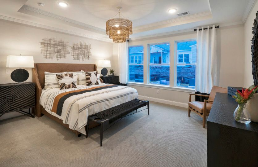 Bedroom featured in the Turin By Del Webb in Morris County, NJ