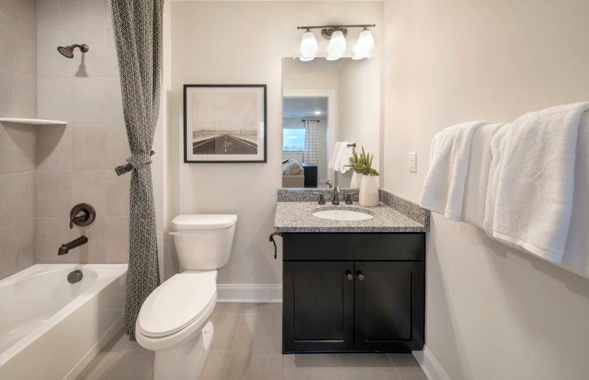 Bathroom featured in the Turin By Del Webb in Morris County, NJ
