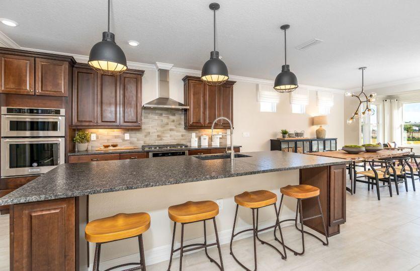 Kitchen featured in the Stellar By Del Webb in Jacksonville-St. Augustine, FL