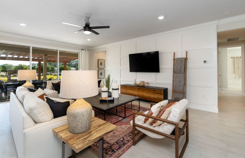 Living Area featured in the Stellar By Del Webb in Jacksonville-St. Augustine, FL