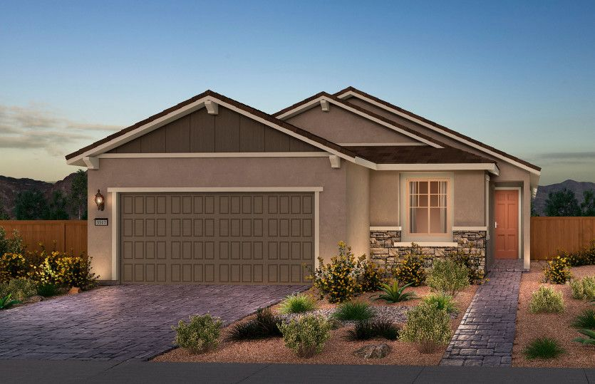 Exterior featured in the Expedition By Del Webb in Las Vegas, NV