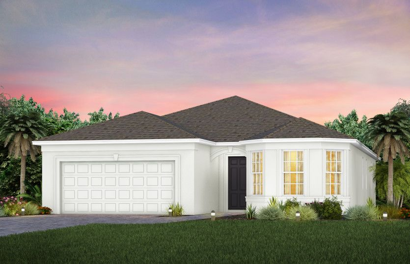 Exterior featured in the Mystique By Del Webb in Martin-St. Lucie-Okeechobee Counties, FL