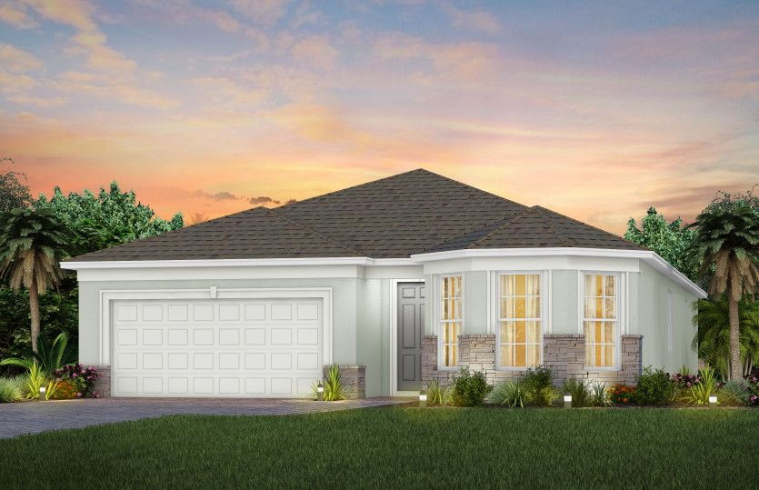 Exterior featured in the Palmary By Del Webb in Martin-St. Lucie-Okeechobee Counties, FL
