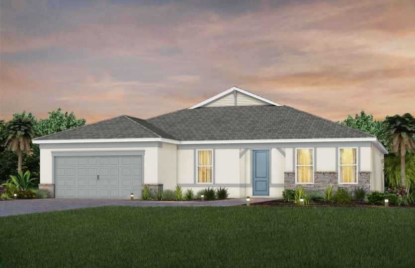 Exterior featured in the Stardom By Del Webb in Martin-St. Lucie-Okeechobee Counties, FL