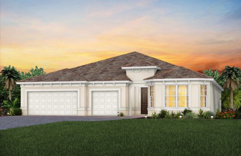 Exterior featured in the Renown By Del Webb in Martin-St. Lucie-Okeechobee Counties, FL