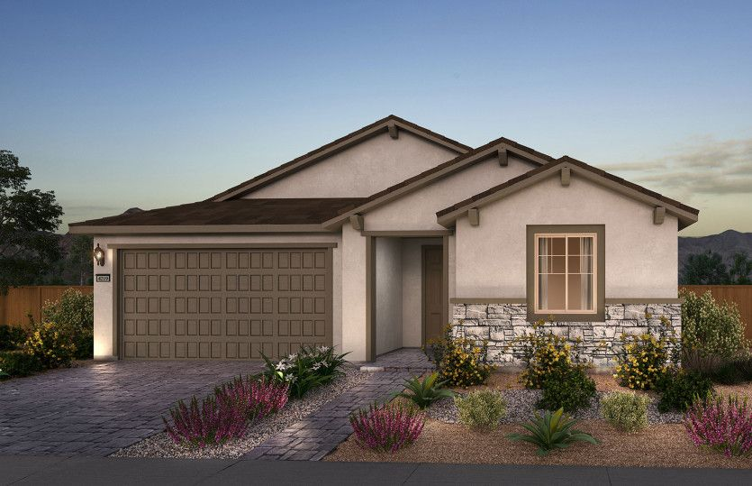 Exterior featured in the Preserve By Del Webb in Las Vegas, NV