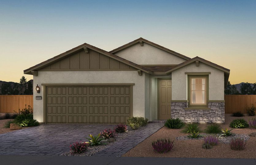 Exterior featured in the Solitude By Del Webb in Las Vegas, NV