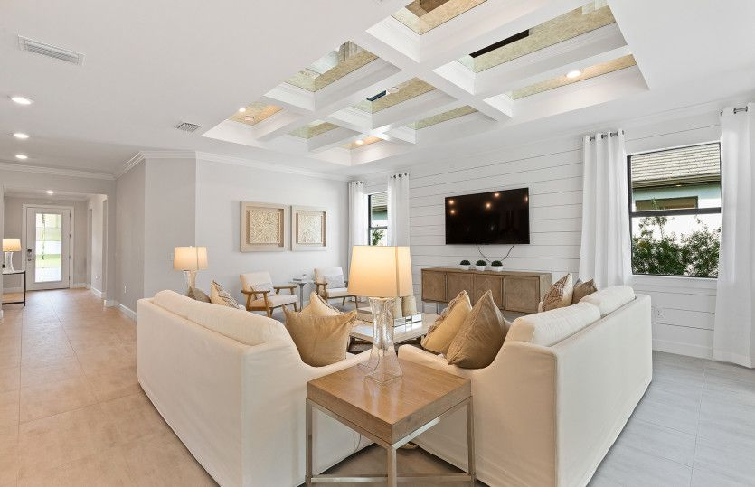 Living Area featured in the Reverence By Del Webb in Naples, FL