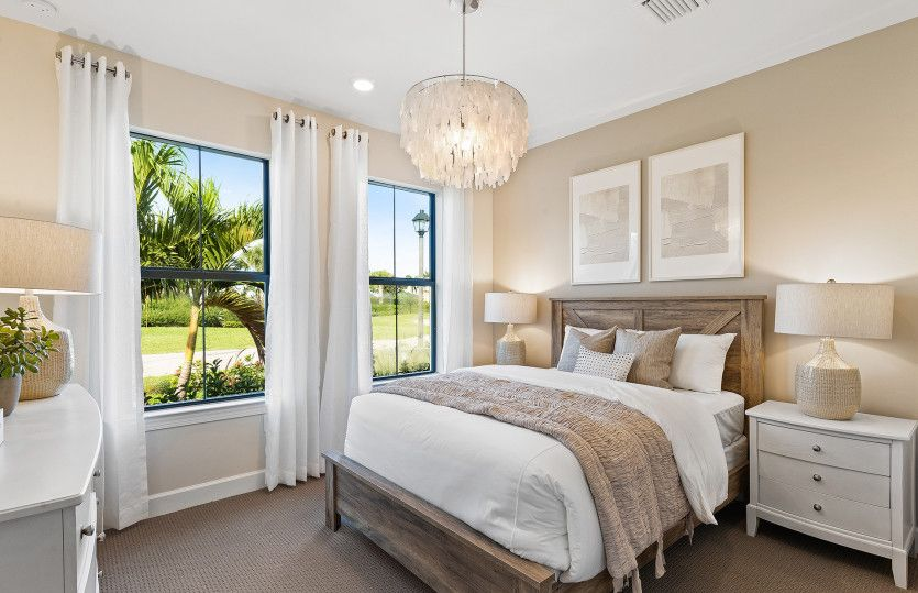 Bedroom featured in the Reverence By Del Webb in Naples, FL